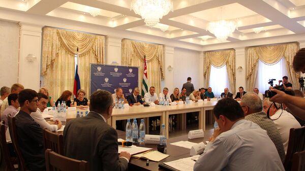 Учредительная конференция по созданию союза русских и казачьих общественных организаций республики Абхазия. 6 июля 2019