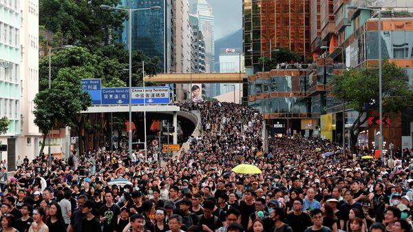 Протест против внесения поправок к законопроекту об экстрадиции, Гонконг
