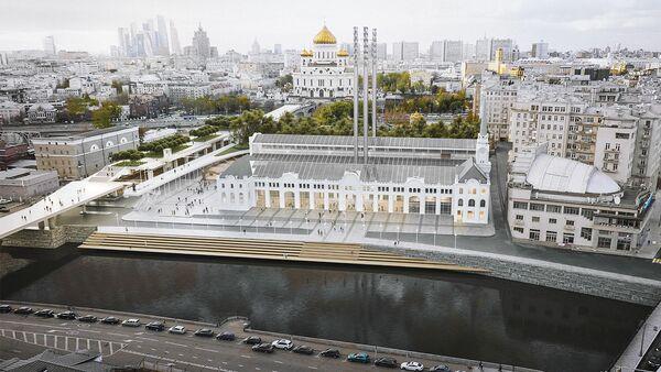 Проект реконструкции ГЭС-2 на Болотной набережной в Москве