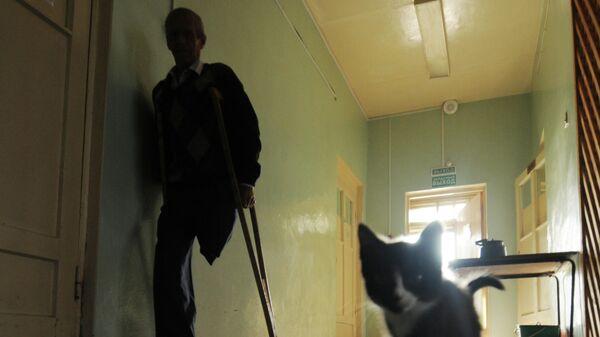 Пациент в коридоре