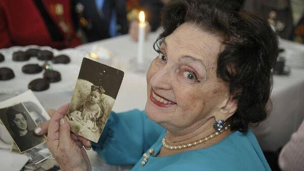 Старейшая работница Мариинского театра Нина Мацина