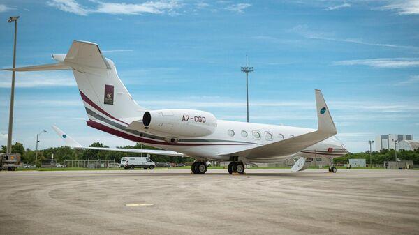 Самолет Gulfstream G650ER миссии One More Orbit