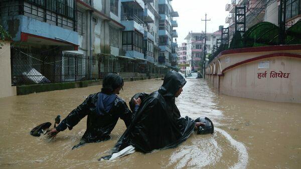 Последствия наводнений в Непале. 12 июля 2019