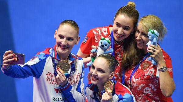 Светлана Ромашина и Светлана Колесниченко, Елена Воронова и Татьяна Данченко