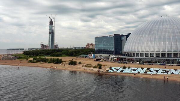Деловой комплекс Лахта-центр в Санкт-Петербурге