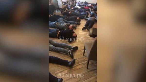 Задержание криминальных авторитетов в Люберцах