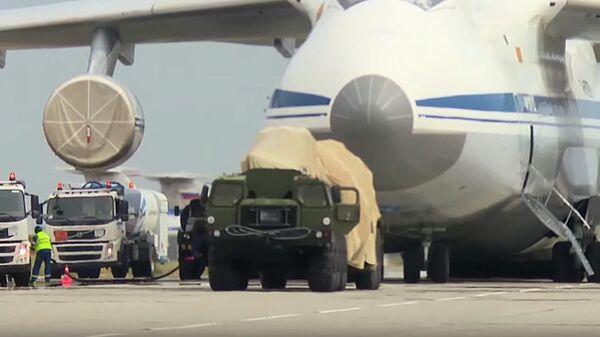 Поставка партии компонентов российской ЗРС С-400 Турции