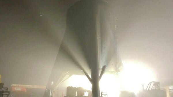 Starhoper, прототип космического корабля Starship