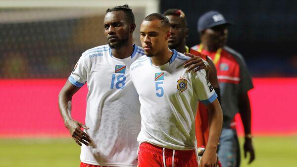Футболисты ДР Конго после вылета с Кубка Африканских наций