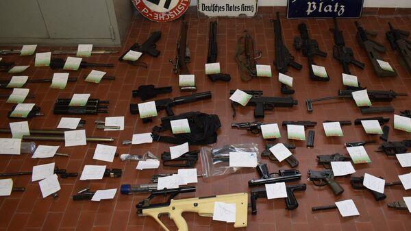 Спецоперация итальянской полиции по изъятию оружия