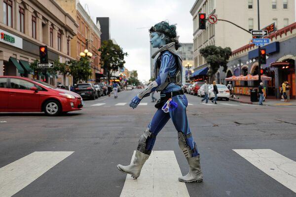 Фестиваль Comic-Con в Сан-Диего