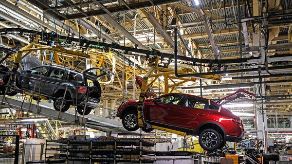 Производство автомобилей Renault Arkana