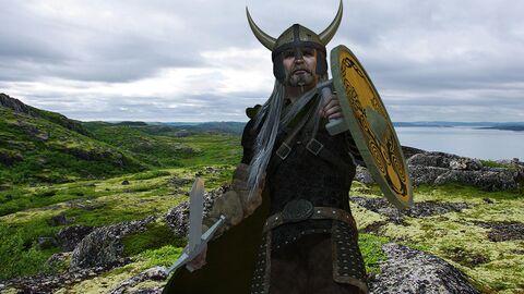 Викинг в Гренландии