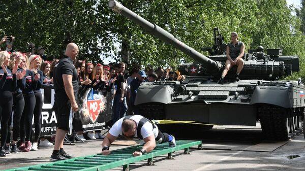 Соревнования SCL – Strongman Champion League Богатыри мира в Петрозаводске. 20 июля 2019