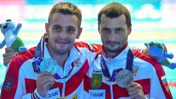Российские прыгуны в воду завоевали на ЧМ четыре медали и лицензии на ОИ