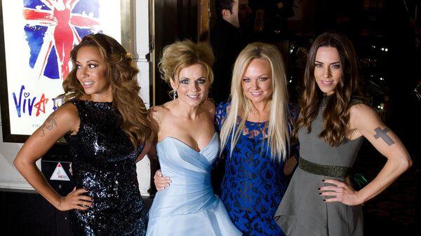 Участницы группы Spice Girls