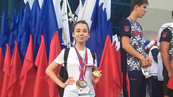 Взявшая интервью у Путина девушка выиграла 5 медалей Спартакиады инвалидов