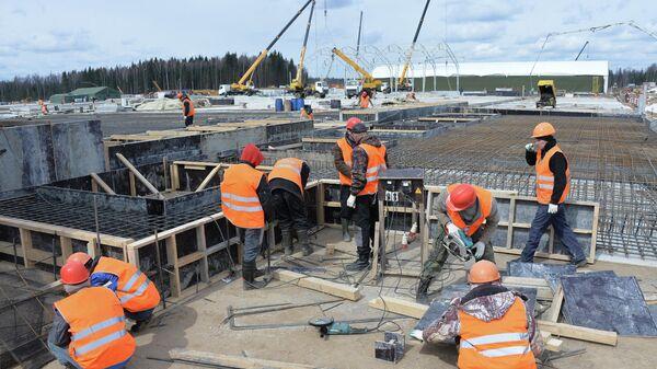 Строительство парка Патриот для проведения форума Армия-2015
