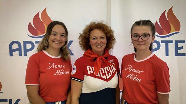 Трехкратная чемпионка Паралимпийских игр Ольга Семенова на встрече с артековцами