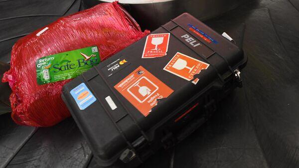 Выдача багажа в аэропорту Шереметьево