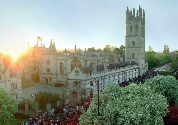 Здание Магдален-колледжа Оксфордского университета