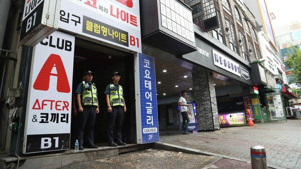 Ночной клуб в южнокорейском Кванджу