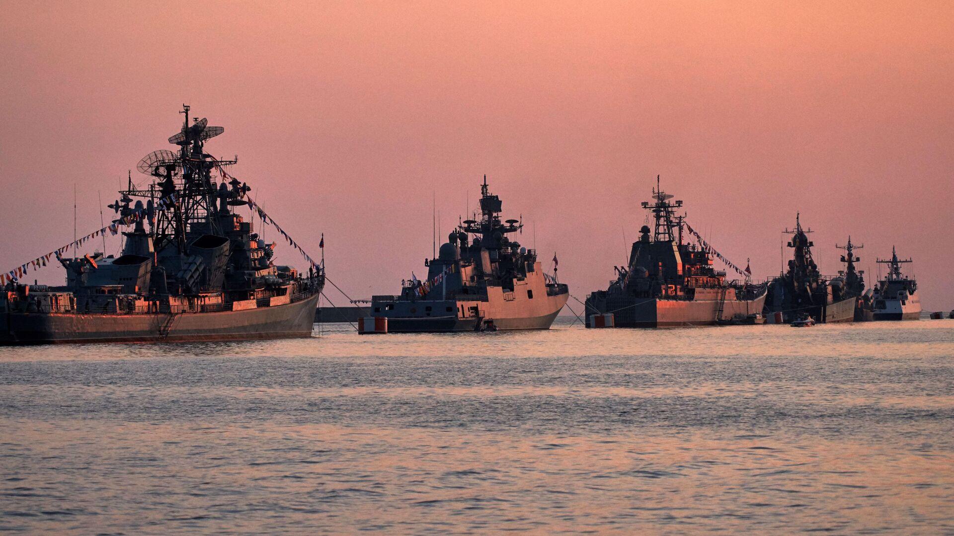 Военные корабли в бухте Севастополя - РИА Новости, 1920, 25.02.2021