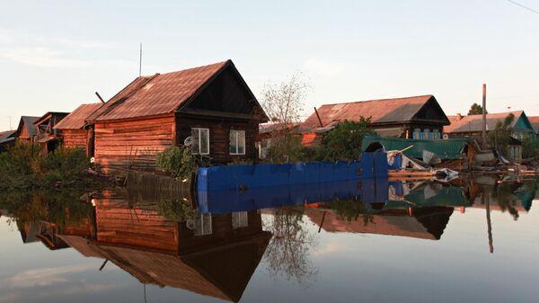 Ситуация в зоне подтопления в Иркутской области