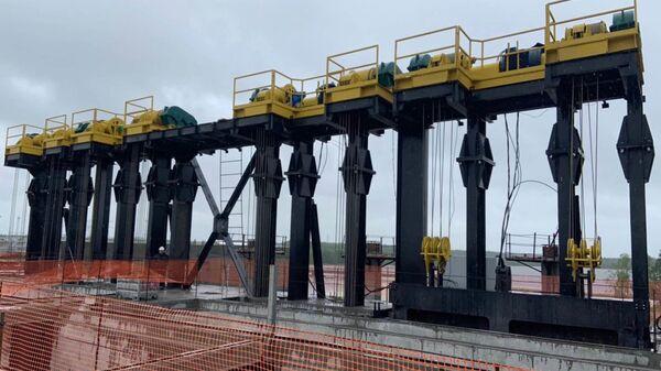 Строительство Белопорожской ГЭС в Карелии