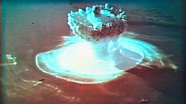 Первый подводный ядерный взрыв в СССР и первый ядерный взрыв на Новой Земле 21 сентября 1955 г