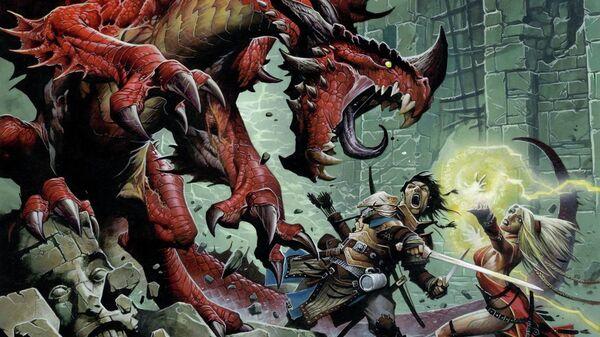 Игра Подземелья драконов