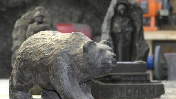 Кемеровский мастер делает уникальные скульптуры из угля