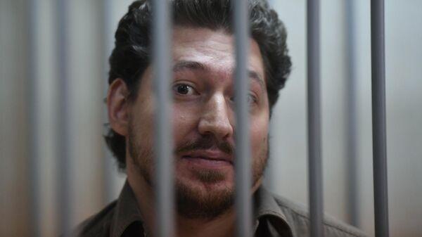 Кирилл Жуков, обвиняемый по уголовному делу о массовых беспорядках в центре Москвы 27 июля