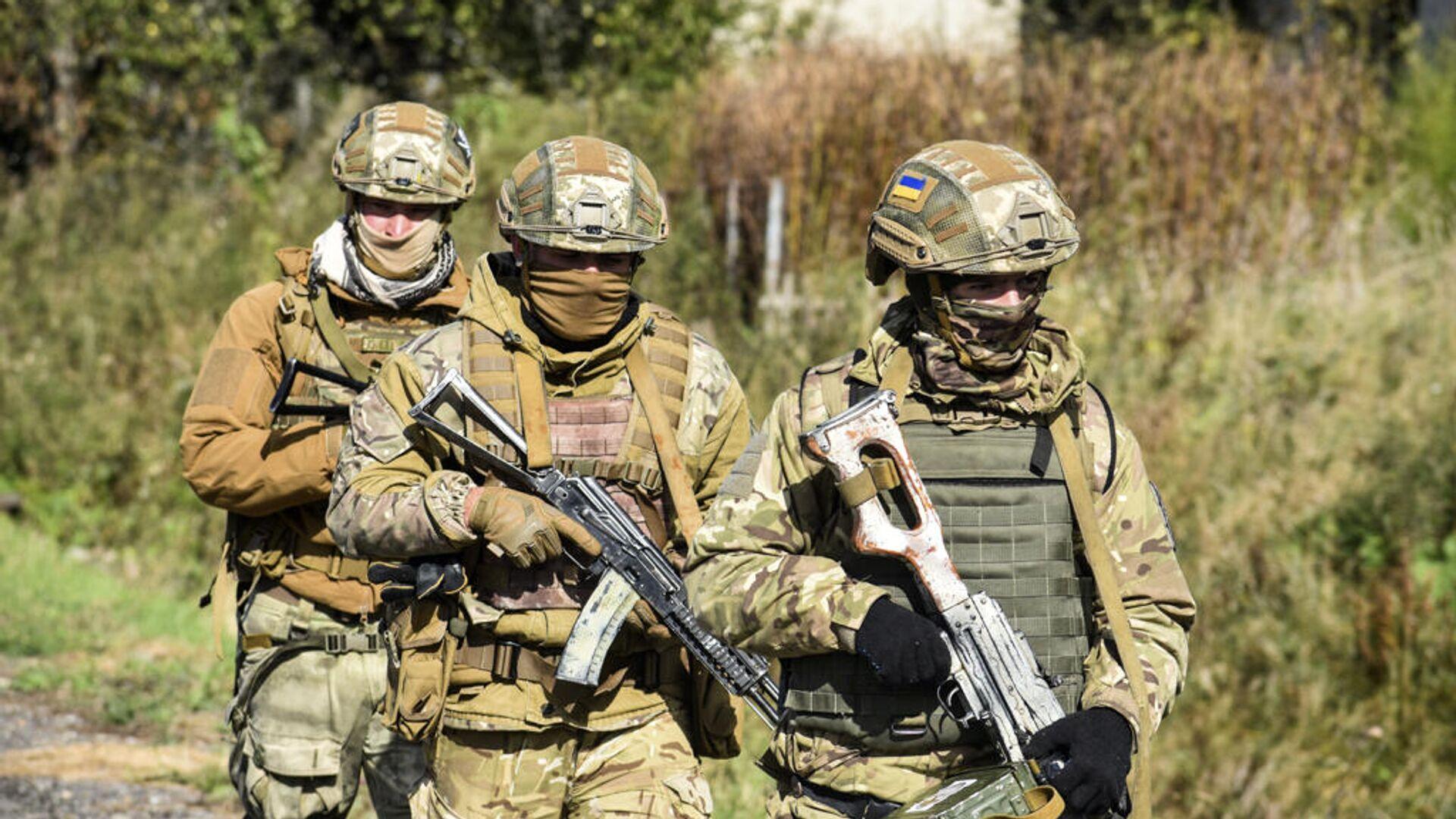 Военнослужащие армии Украины - РИА Новости, 1920, 07.01.2021