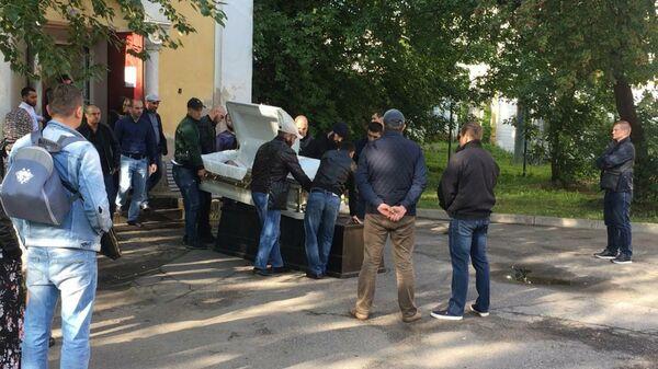 Похороны Максима Дадашева