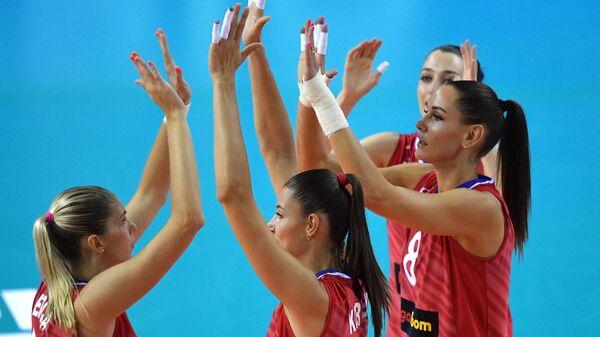 Женская сборная России победила Камерун на старте Кубка мира