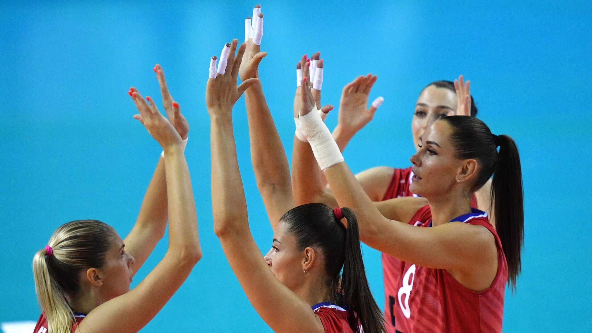 Женская сборная России по волейболу - РИА Новости, 1920, 16.05.2021