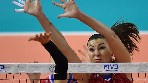Игрок сборной России по волейболу Ирина Королёва