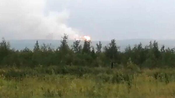 Взрыв на территории воинской части в Ачинском районе Красноярского края