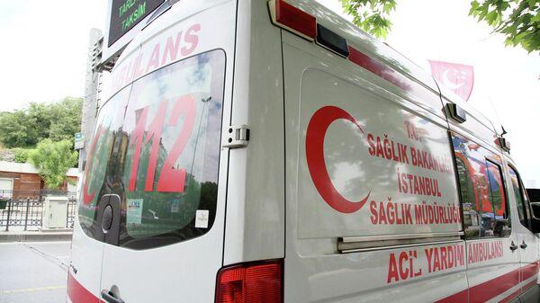 Скорая помощь на улице Стамбула