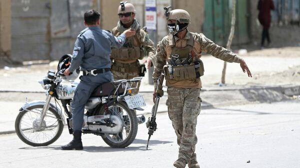 Военные в Афганистане. Архивное фото