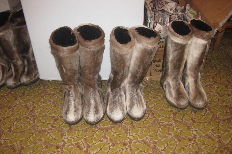 Традиционная зимняя обувь