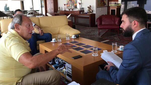 Интервью РИА Новости с бывшим президентом Ливана Эмилем Ляхудом