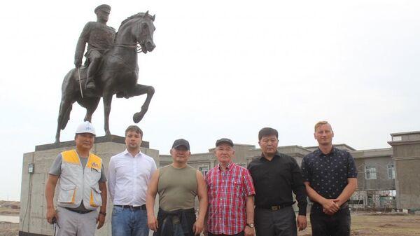 Памятник маршалу Георгию Жукову установили в Монголии. 8 августа 2019