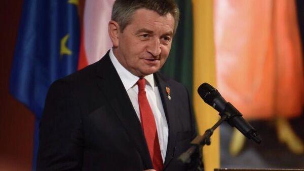 Спикер парламента Польши Марек Кухчиньский