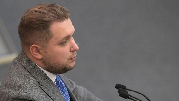 Депутат фракции ЛДПР Борис Чернышов