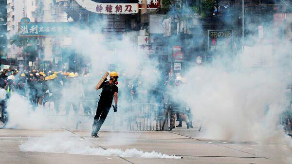 Протестующие в Гонконге, Китай