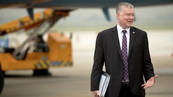 Специальный представитель США в Северной Корее Стивен Биган