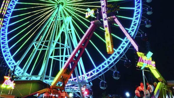 Самое высокое в Турции колесо обозрения Сердце Антальи в парке Aktur Park