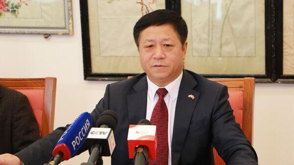 Чрезвычайный и полномочный посол КНР в России Чжан Ханьхуэй